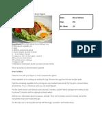 Resep Nasi Goreng Dalam Bahasa Inggris