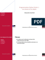 Classes Et Objects