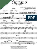 Minuano (Six Eight) - Parts