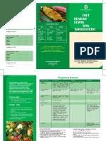 Brosur Diet Rendah Lemak Dan Kholesterol1