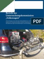 Bericht Untersuchungskommission Volkswagen
