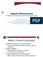 Integrity Measurement