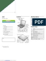 IBM Thinkpad 600E Quick Reference