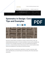 Symmetry in Design_ Concepts, Tips and Examples