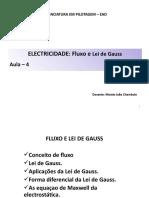 Aula 4 - Lei de Gauss