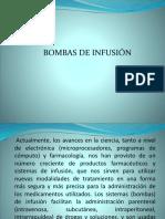 Bombas Infucion