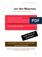 Conquer the Shaytan by Shaykh Musa Jibril