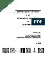Introduccion Biofisica a La Resonancia Magnetica en Neuroimagen