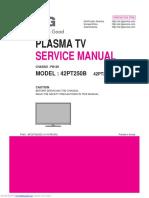 42pt250b Manual Servicio