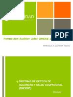 Curso Auditor Lider OHSAS