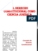 Derecho Constitucional General I