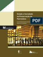 LIVRO - Estado e Sociedade Na Preservação Patrimônio