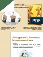 Relacion Historica -De-la-literatura-hispanoamericana Plan Tercero