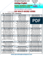 Advanced Multi-word Verbs
