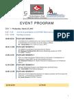 Congr Géomatique Tunis EVENT PROGRAM Version F19!03!2015