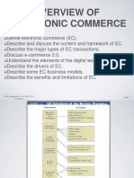 1 Overview of Electronic Commerce