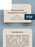 Blood pressure management in stroke Journal reading.pptx
