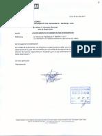 Carta N° 209-17SL-OCTC Levantamiento de Observación de Seguridad