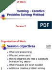 Course 2 Efficient Brainstorming