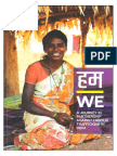 Shruti and Anup along with PVCHR mentioned in report of IJM