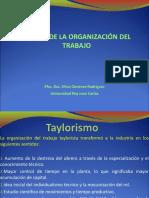 Historia Organización Del Trabajo