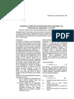 9 Modelo Cinético de Desorción Biofarmacia