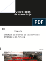 SEMANA 3.1-Sostenimientos y Refuerzos en El Macizo Rocoso