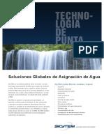 Soluciones Globales de Asignacion de Agua