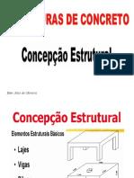 CONCEPÇÃO ESTRUTURAL