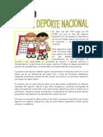 15 de JULIO (2) - Día Del Deporte Nacional.