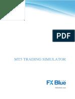FX Blue Trading Simulator for MT5