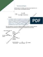 Teorema de Bayes (Nivel bachillerato)