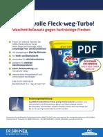 31-3100 Ariel-Fleckentferner-Pulver de PB 0315