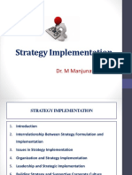 Strategy Implementation - Class