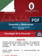 Emoción y Motivación 1er corte