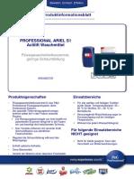 Pib Professional Ariel s1 Actilift Waschmittel