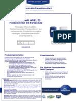 PIB PROFESSIONAL ARIEL S3 Fleckentferner Mit Farbschutz