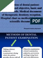01. Examination of Dental Patient