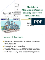 Module II - Managerial Decision Making and Individual Differences.pdf