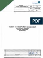 000 Za e 009021_a Vendor Documentation Requirement