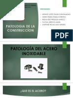 Patologia Del Acero Inoxidable