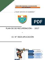 Plan de Recuperacion UGEL San Martín.docx