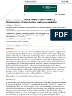 Cambios Relacionados Con La Edad en La Farmacocinética y Farmacodinamia. Principios Básicos y Aplicaciones Prácticas