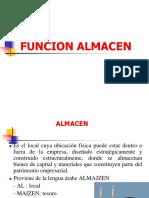 Unid.iv,Funcion Almacen