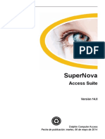 Spanish SuperNovaAccessSuite v14