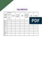 tabla comparativa fuentes de informacion