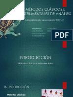 Metodos Clasicos e Instrumentales de Analisis