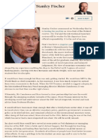 The influence of Stanley Fischer  Larry Summers' blog, Fuente Financial Times