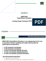 EMA3100A  Creating Target Tracking (TTP) Projects