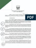 Resolución N° 023-2017-OEFA-CD